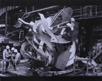 四宮佑次 《The Document:Frank Stella and YAWATA WORKS,Kitakyushu 1993》